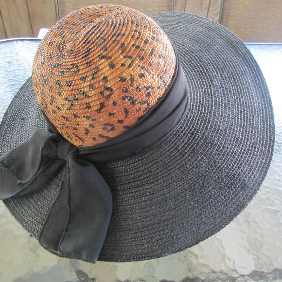 256baf2de2d4d Liz Claiborne Accessories - Ladies Liz Claiborne Large Brim Straw Hat